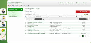 Knowledgebase helpdesk