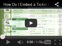 How Do I Embed a Ticket Form in my Website