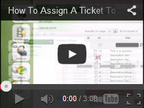 How To Assign A Ticket To A Technician
